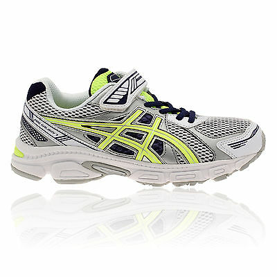 ASICS Junior Kids PRE GALAXY 7 PS Grey Cushioned Running Trainers Pumps Shoes
