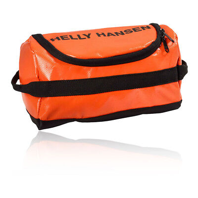 Helly Hansen Unisex Orange Travel Toiletry Toiletries Storage Wash Bag 5L