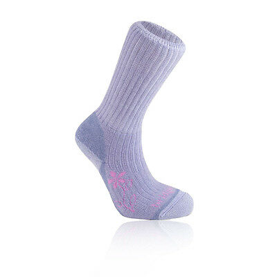 Bridgedale Merinofusion Trekker Womens Purple Coolmax Cushioned Running Socks