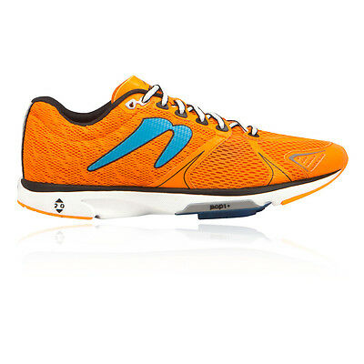 Newton Distance V Mens Orange Cushioned Running Road Sports Shoes Trainers Pumps