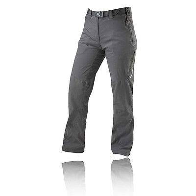 Montane Terra Ridge Womens Grey Long Outdoors Hiking Pockets Pants Bottoms M