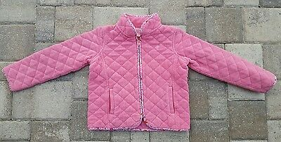 Girls Lilly Pulitzer 7 pink quilted coat jacket Franny 7