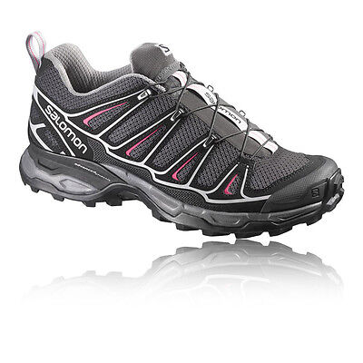 Salomon X Ultra 2 Womens Grey Breathable Light Trail Outdoors Walking Boots