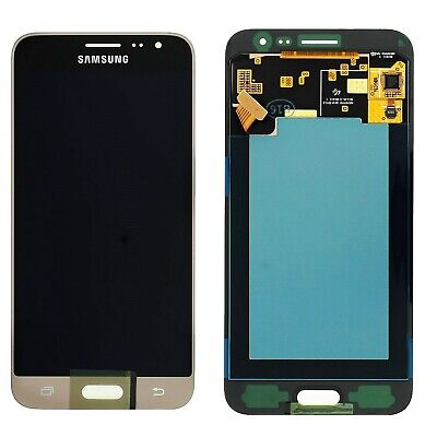 DISPLAY LCD TOUCH SCREEN ORIGINALE per SAMSUNG GALAXY J3 2016 SM-J320FN ORO GOLD