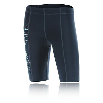 2XU Hyoptik Luminescent Womens Blue Compression Short Tights Bottoms Pants