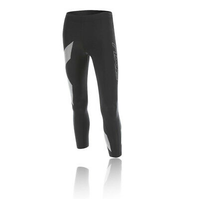 2XU TR2 Womens Black Compression Running Sports Capri Tights Bottoms Pants
