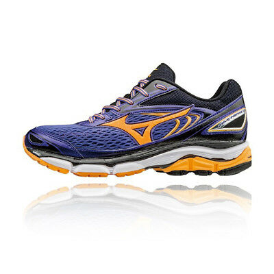 Mizuno Wave Inspire 13 Womens Blue Running Road Sports Shoes Trainers