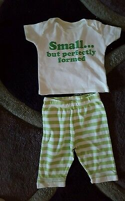 cute baby boys top & bottoms by George size 3/6 mths