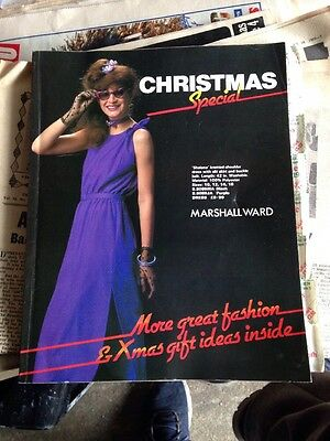 Marshall Ward – 131 page   mail order catalogue christmas special 1980