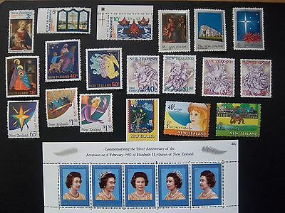 New Zealand MINT postage stamps, for collection or USE inc. M/Ss