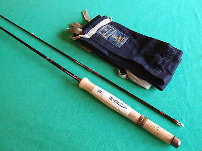 Hardy DeLuxe 8' 1/2 Graphite Fly Rod as new