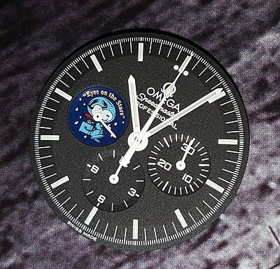 SPECIAL OFFER 3578.51 OMEGA SPEEDMASTER SNOOPY DIAL LIMITED EDITION c/w HANDS