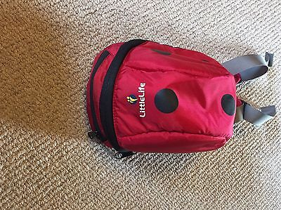 LittleLife Ladybird Toddler BackPack With Reins