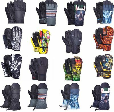 Celtek Men's Snowboard Ski Gloves  All Styles Sizes and Colors