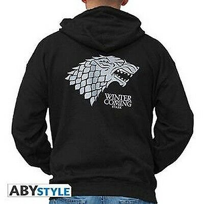 GAME OF THRONES Hoodie: Winter is coming (Large)
