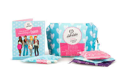 Starter Pack Lil Lets Teens Liners Day 14 Pack With Wings Brand New