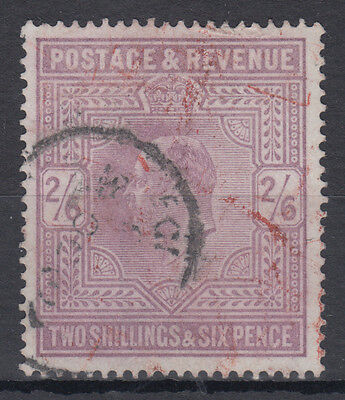 GB KEVII 2s 6d lilac High Value; Good Used; SG 260?