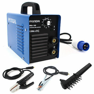 160Amp Inverter Welder Hyundai MMA / ARC Pro Series Welder