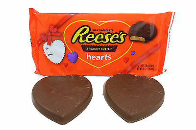 Giant Reese's Peanut Butter Hearts 2 x Whopping 453g =1lb JUST £10 FREE DELIVERY
