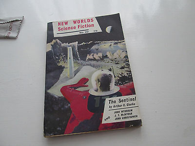 New Worlds Science Fiction Vol 8 No 22 THE SENTINEL by ARTHUR C LARKE ( 2001 A..