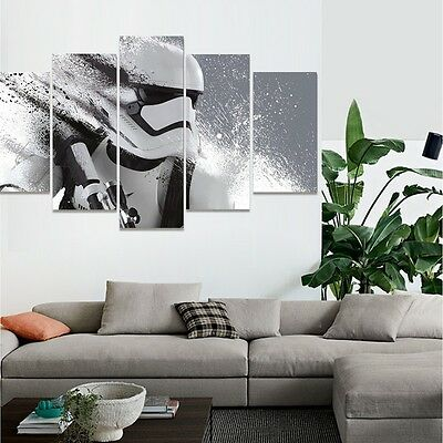 Star Wars modern home decor wall art oil Painting on canvas Print Stormtrooper5P