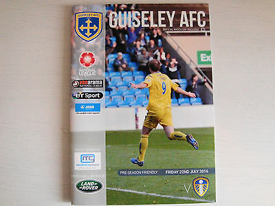 Guiseley AFC v Leeds United 2016/17