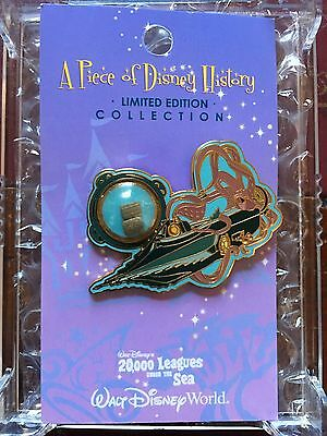 DISNEY  PIECE OF DISNEY HISTORY 2005 20,000 Leagues Under The Sea PIN