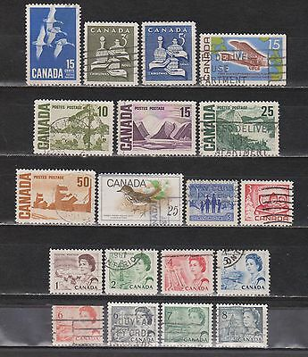 Canada - 1963-1971 - 19 Stamps