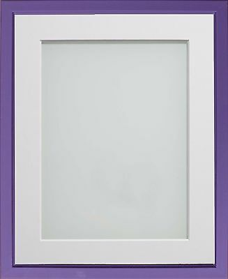 Purple Drayton Range Picture Photo Frames With Choice of Mount Colours