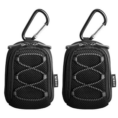 Nikon All Weather Sport Camera Case with Carabiner 2 Pack