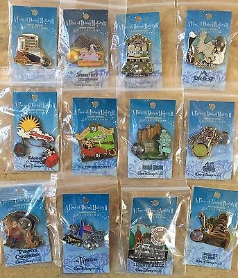 DISNEY PIECE OF DISNEY HISTORY 2 Complete Set Of 12 PINs