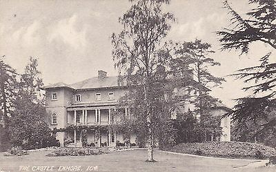 """RPPC of """" The Castle , Enmore """" unposted card  - writing on card"""