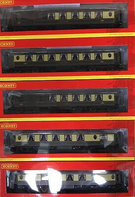 HORNBY Rake Of 5 ALL STEEL K TYPE PULLMAN COACHES NEW