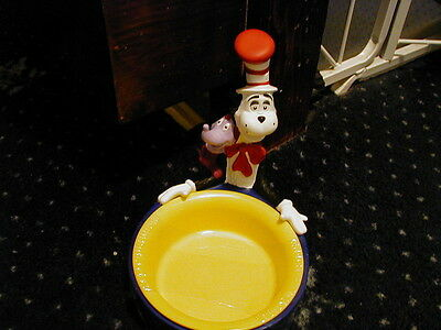 Dr Seuss Cat In The Hat Bowl With Whozit Brand New!! Very Rare