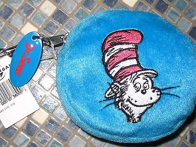 Dr Seuss Cat in the Hat and Thing 1 and Thing 2 Blue Purse BRAND NEW VERY RARE