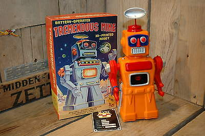 VST - Tremendous Mike 3D Printed Robot + Box.  Limited to 25 pieces !!!