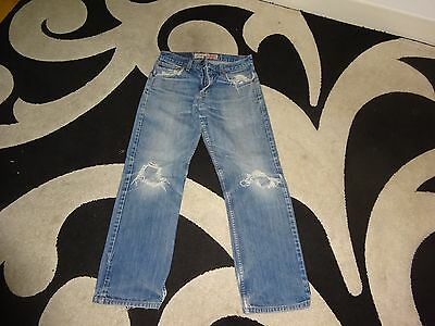 """levis signiture jeans distressed look size 30"""" x 30"""" see pics"""