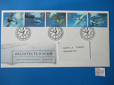 1997 GB Commemorative FDC:  Architects of the Air #C38