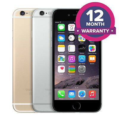 Apple iPhone 6 Plus Unlocked Smartphone - 16GB 64GB 128GB - All Colours