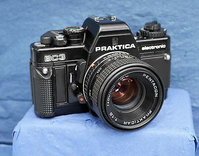 Clean & working Praktica BC3 complete with Lens (sold as seen as not serviced)
