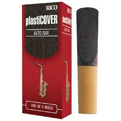 RICO ALTO SAX PLASTICOVER REED - SINGLE (Free postage for any additional)