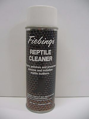 Fiebing's Reptile - Exotic Leather Skin Cleaner Conditioner  & Preserver 7 oz