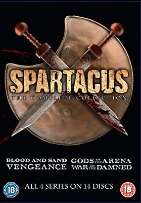 Spartacus The Complete Collection (Slim Edition) [DVD]