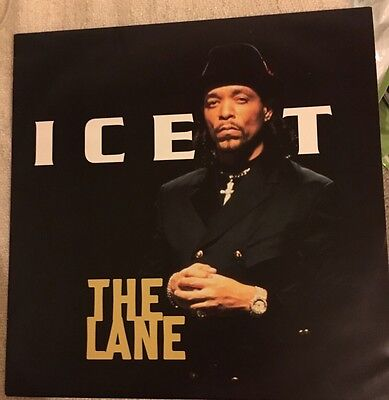 "Ice T: The Lane 12"" Vinyl Hip hop / Rap"