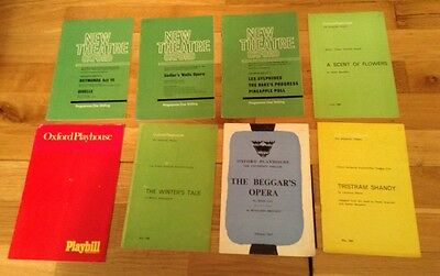 OXFORD new theatre & playhouse theatre programmes, mainly 1960s