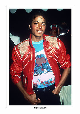 MICHAEL JACKSON A4 PRINT PHOTO MUSIC  jackson 5 five