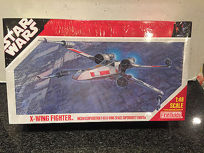 Fine Molds Star Wars X-Wing Fighter Model Kit 1:40 Scale New In Sealed Box 2007