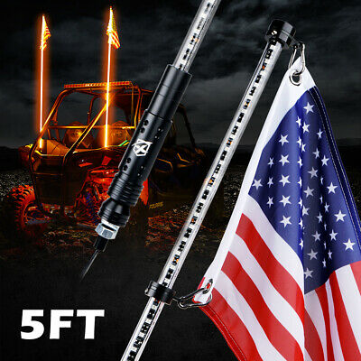 Automobiles & Motorcycles Kemimoto Utv Whip Light 5ft Led Flag Pole Safety Antenna Whip Lights For Sand Dune Buggy Atv Truck For Jeep For Polaris Rzr Atv,rv,boat & Other Vehicle