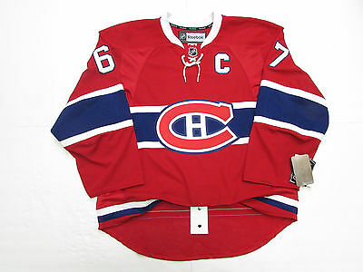 Max Pacioretty Montreal Canadiens Authentic Home Reebok Edge 2.0 7287 Jersey