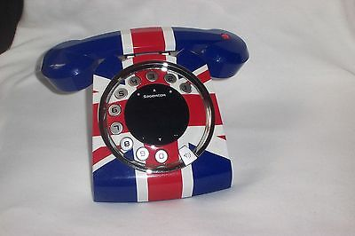 Rare Sagemcom Digital cordless sixty union jack telephone with answerphone  ONLY